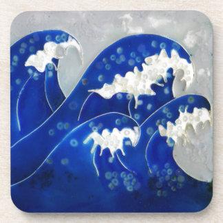 Waves Drink Coaster