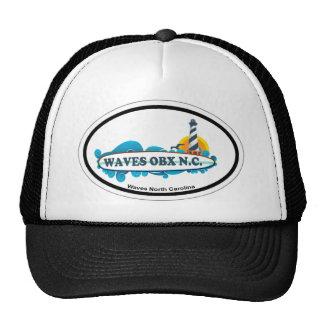 Waves. Hats
