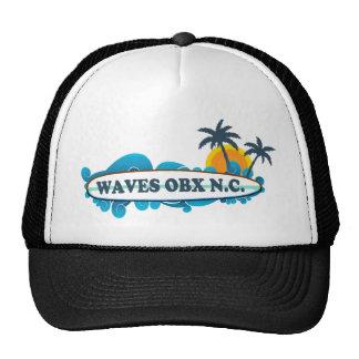 Waves. Mesh Hats