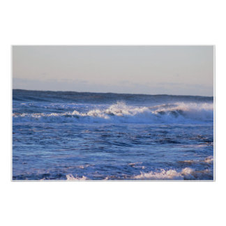 Waves High Tide Photo Poster