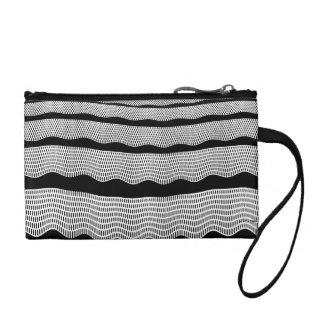 Waves horizontal coin purse