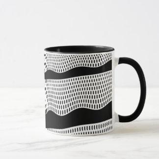 Waves horizontal mug