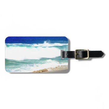 Beach Themed Waves in Cabo Bag Tag