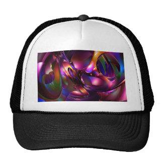 Waves in colors trucker hat