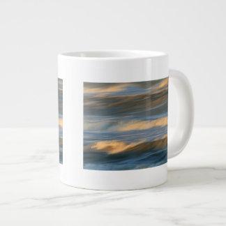Waves in Motion Design 20 Oz Large Ceramic Coffee Mug