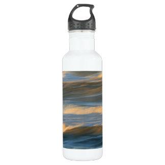 Waves in Motion Design Water Bottle