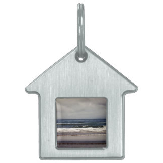 Waves in the Pacific Ocean Pet ID Tags