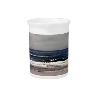 Waves in the Pacific Ocean Beverage Pitchers