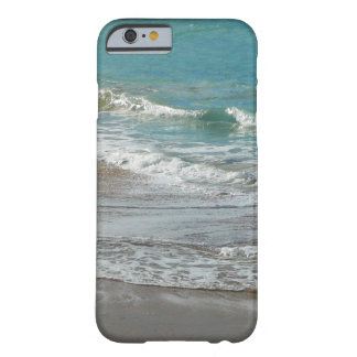 Waves Lapping on the Beach Turquoise Blue Ocean Barely There iPhone 6 Case
