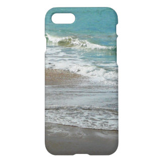 Waves Lapping on the Beach Turquoise Blue Ocean iPhone 7 Case