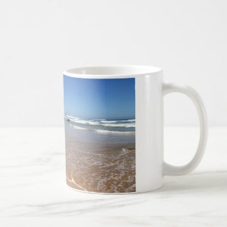 Waves lapping on the South African Beach Coffee Mug