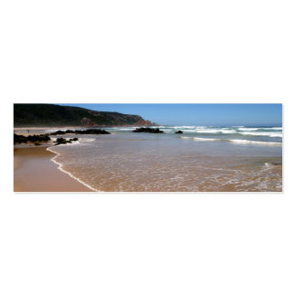 Waves lapping on the South African Beach Mini Business Card