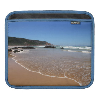 Waves lapping on the South African Beach Sleeve For iPads