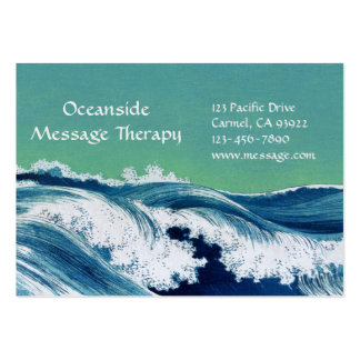 Waves Large Business & Appointment Card Business Cards