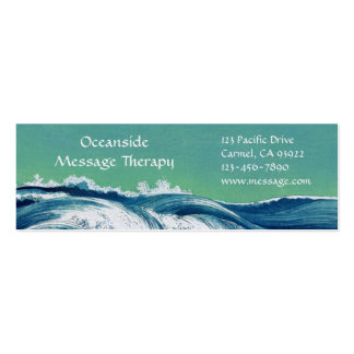 Waves Mini Business & Appointment Card Business Card