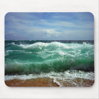 Waves Mouse Pad