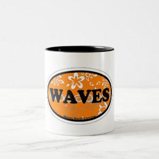 Waves. Mug