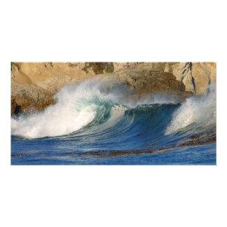waves_near_big_sur customized photo card