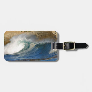 waves-near-monterey waves Monterey , Travel, natur Bag Tag