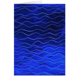 """Waves"" Note Card"