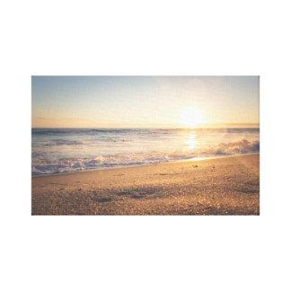 Waves   Ocean   Beach   Sun Canvas Print