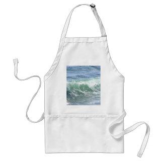 Waves Ocean Foam Water Apron