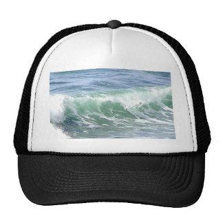 Waves Ocean Foam Water Mesh Hat