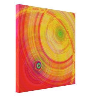 Waves Odyssey Impresión En Lona Estirada