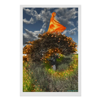 Waves of Autumn Poster