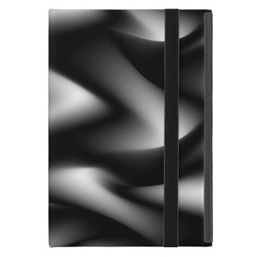 Waves of Black and White Case For iPad Mini