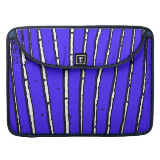 Waves of Blue Sleeves For MacBook Pro
