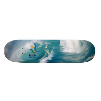 Waves of change Skateboard