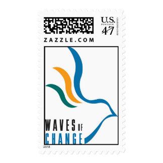 Waves of Change U.S. Postage Stamps