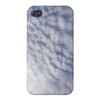 Waves of Clouds iPhone 4 Cover