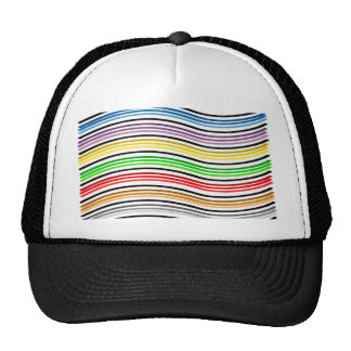 Waves of Color Trucker Hat