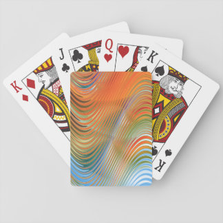 Waves of Colour Playing Cards