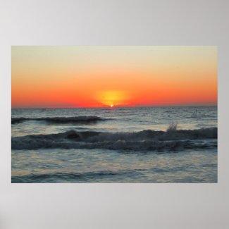 Waves Of Dawn print