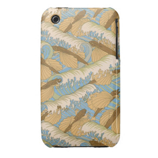 Waves of Fllying Fish iPhone 3 Case-Mate Case