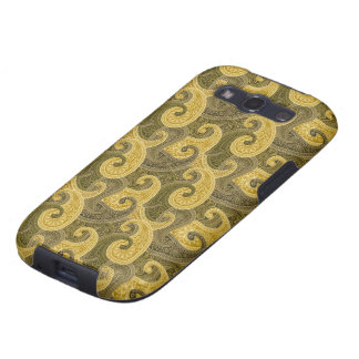 Waves of gold Case-Mate Case Samsung Galaxy SIII Cases