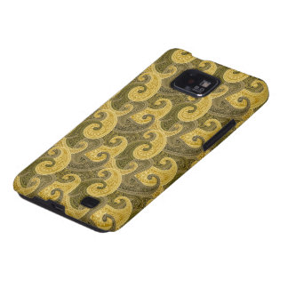Waves of gold Case-Mate Case Galaxy S2 Cover