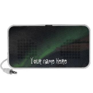 Waves of Green Light; Customizable Mini Speaker