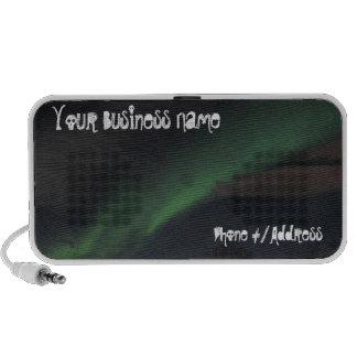 Waves of Green Light; Promotional Laptop Speaker