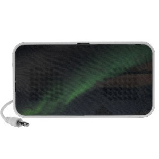 Waves of Green Light iPod Speakers