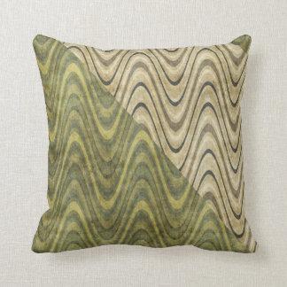Waves of Green Pillow