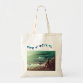 WAVES OF HEALING ART... CANVAS BAGS