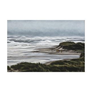 Waves Of Hermine Canvas Print