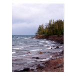 Waves of Lake Superior Post Cards