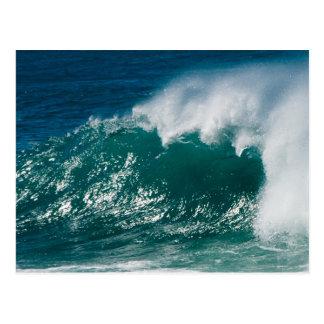 Waves of Oahu Postcard