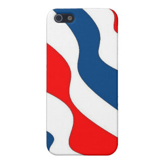 Waves of Patriotism - case Case For iPhone 5