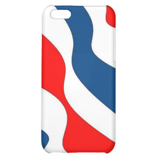 Waves of Patriotism - case Case For iPhone 5C